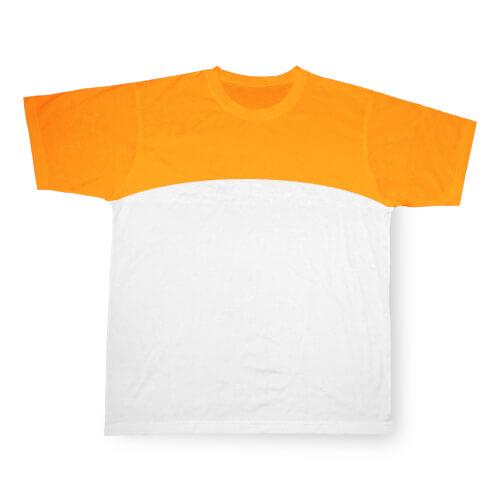 XXL-es, narancssárga, szublimálható Cotton-Touch sport póló